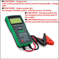 12V Digital Car Battery System Tester Capacity Maximum Electronic load Battery