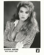 Gianna Amore Playboy Playmate Miss August 1989 8x10 Promo Photo