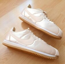 New Nike Classic Cortez Satin Champagne Gold Metallic Trainers Women Men UK 5.5