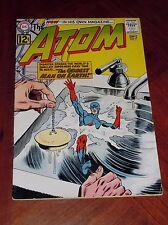 THE ATOM #2 (1962) GIL KANE art FINE PLUS (6.5) cond. SUPER GLOSS Gil Kane