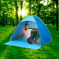 Portable Pop Up Beach Tent Anti UV Sun Shelter Shade Canopy Camping Fishing Tent