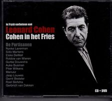 LEONARD COHEN Cohen In Het Fries 2-CD-DVD BOX Nynke Laverman Elske DeWall Sido