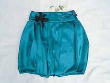 River Island Ladies Turquoise Puff Ball Party Skirt Size 6 New RRP £32
