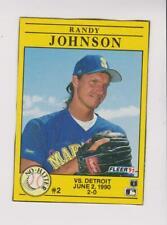 1991 Fleer Box Card #2 Randy Johnson card, Arizona Diamondbacks HOF