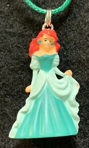 The Little Mermaid Large Mint Green Cameo Cute Disney Jewelry Ariel Cameo Necklace