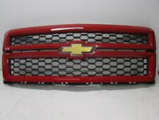 OEM 2014 2015 CHEVROLET SILVERADO 1500 FRONT GRILLE GRILL Victory Red 23194172
