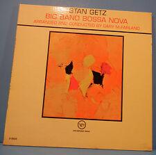 STAN GETZ BIG BAND BOSSA NOVA LP '62 MONO ORIGINAL PRESS GREAT COND! VG+/VG++!!C