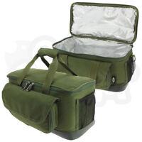 Large Green Carp Insulated Bait Carryall Carp Pike Sea Fishing Food Boilie Bag