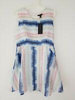 New MELA LOVES LONDON Light Pastel Dress Size 14