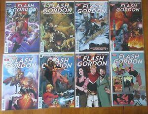 Flash Gordon #1-7 & Annual 2014 Dynamite Comic Books VF/NM