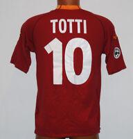 maglia ROMA scudetto 2000 2001 Kappa TOTTI #10 no match worn Ina Assitalia L