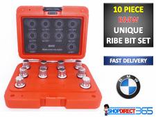 10PC BMW Tuerca De Bloqueo Maestro Socket Bit Set Neilsen CT3987 la eliminación Ribe