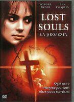 LOST SOULS  LA PROFEZIA (2000) un film di Janusz Kaminski DVD EX NOLEGGIO WARNER