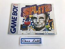 Notice - Splitz - Nintendo Game Boy - PAL FRG