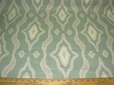 """~9 3/8 YDS~MAGNOLIA HOME~ IKAT SOUTHWEST""""~COTTON UPHOLSTERY FABRIC FOR LESS~"""