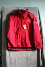 New Riverside County Ladies Hooded Coat Red Size 16