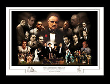 THE GODFATHER TRILOGY MONTAGE PRINT