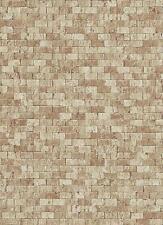 Vlies Tapete Erismann BRIX Unlimited 6941-11 Stein Optik Steinmauer Beige Braun