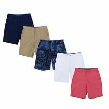 Polo Ralph Lauren Masculino Shorts Relaxed Fit 10 Polegadas frente plana Casual Calças Novo