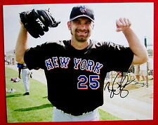 Bill Pulsipher New York Mets Autographed MLB Photo Original 8x10 c