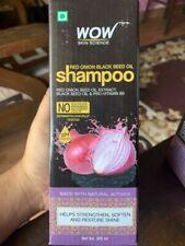 wow red onion black seed oil shampoo - 300ml