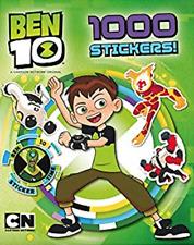 NEW Ben 10 Cartoon Network Alien Hero Puzzles Book with 1000 Stickers Kids Gift!