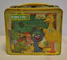 AG Vintage 1979 Aladdin Children's TV Workshop Sesame Street Metal Lunch Box