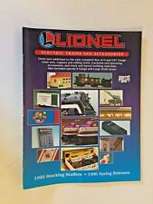 Vintage 1995 Lionel Trains Catalog Toy Electric Accessories 1996 Spring Releases