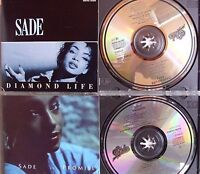 Sade- Diamond Life/ Promise- Manufactured in Japan- 2 CDs- No Barcode