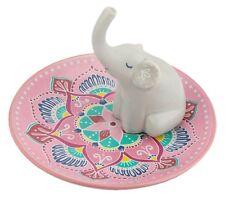 Sass and Belle Mandala Elephant Jewellery Trinket Dish Ring Earring Tree Holder