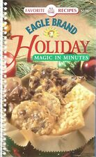 Eagle Brand HOLIDAY Magic in Minutes COOKBOOK Desserts RECIPES New COOKING