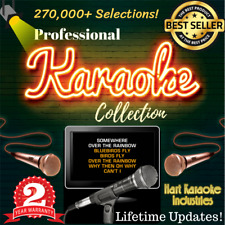 Karaoke Collection Hard Drive -Licensed - Lifetime Updates - 270,000+ Selections