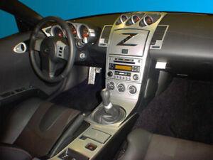 INTERIOR SILVER ALUMINUM DASH TRIM KIT FOR NISSAN 350Z 350 Z Z33 2006 2007 2008