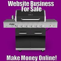 GRILLS Website Earn $102.04 A SALE|FREE Domain|FREE Hosting|FREE Traffic