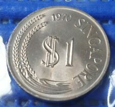 1970 Singapore $1 Stylised Lion Coin