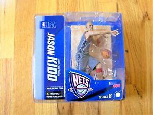 NBA McFARLANE SERIES 8 NEW JERSEY NETS JASON KIDD VARIANT, CHECK DISCRIPTION