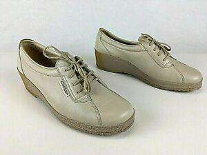 Ganter Damen Vintage Halbschuhe Schnürsenkel Leder Damenschuhe EUR 40