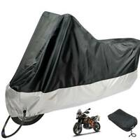 Durable Oxford Motorcycle Motorbike Rain Dust Cover Water Dust Protection UK