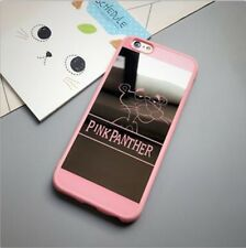 Soft TPU Mirror Phone Back Cover Tigger Case For iPhone 5 5S Color Pink