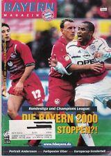 Bayern Magazin 13/51 , Bayern München - 1. FC Kaiserslautern , 25.03.2000