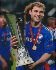 Branislav IVANOVIC Signed Autograph Photo AFTAL COA 2013 EUROPA Trophy WINNER
