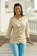 Raffiniertes Damen-Shirt Modehaus weiss Gr.46 Neu/G7
