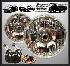 "AC Cobra Dax LHD P700 7"" Tribar Sealed Beam Upgrade Brighter Halogen Headlights"