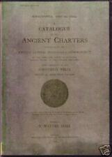 Genealogy - Sheffield Charters and Wills (Yorkshire)