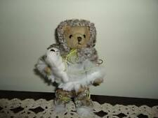 Bearington Collection Eskimo Teddy Bear with Seal