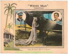 Blanco Man 1924 Vestíbulo Tarjeta #3 Clark Gable