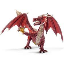 Fantasy Action- und Spielfiguren über Drachen