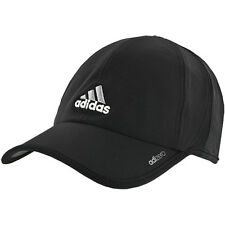 Adidas Tennis Running Climacool Adizero II UPF OSFA Strap Cap Hat New NWT Black