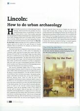 Lincoln; How to do Urban Archaeology.  a selected account of excavations.