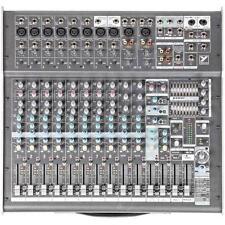 YORKVILLE PM2012 Desktop 12 Channel 2000w Stereo Dual FX Audio Mixer